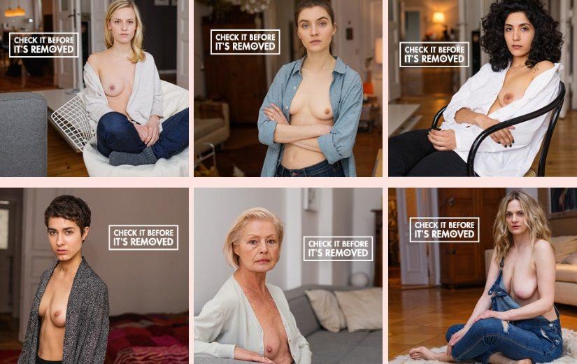 kampania na rzecz profilaktyki raka piersi check it before it;s removed