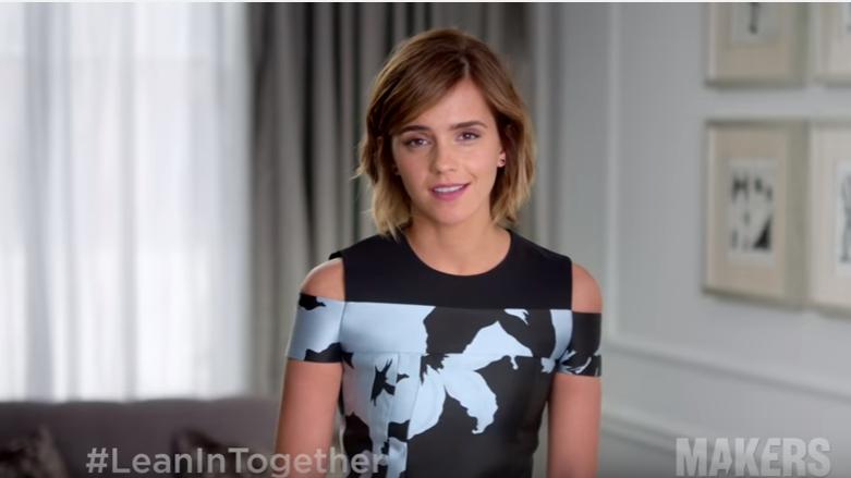 Emma Watson przekonuje do solidarności kobiet w kampanii społecznej Sheryl Sandberg