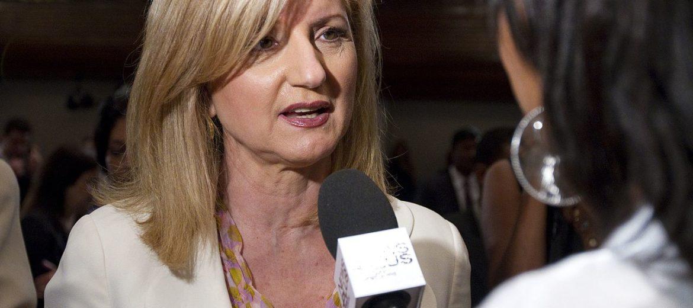Arianna Huffington JK Rowling