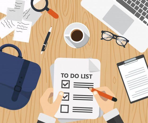 jak tworzyć listę zadań
