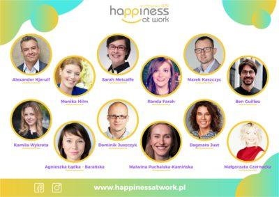 Prelegenci Happiness at work