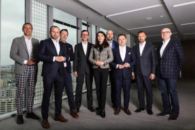 Członkowie Klubu Male Champions of Change
