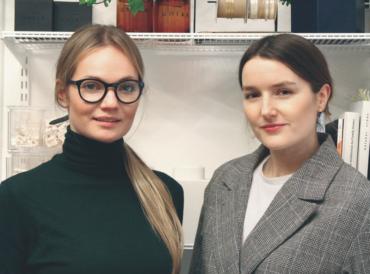 Magdalena Brzozowska i Malwina Wysińska