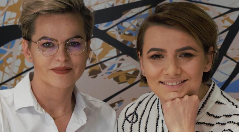 Eliza Moczydłowska i Aleksandra Głos