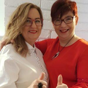 Mariola Szustak i Alina Kaźmierczak