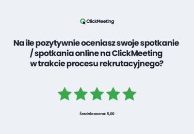 Clickmeeting - raport - proces rekrutacji 2