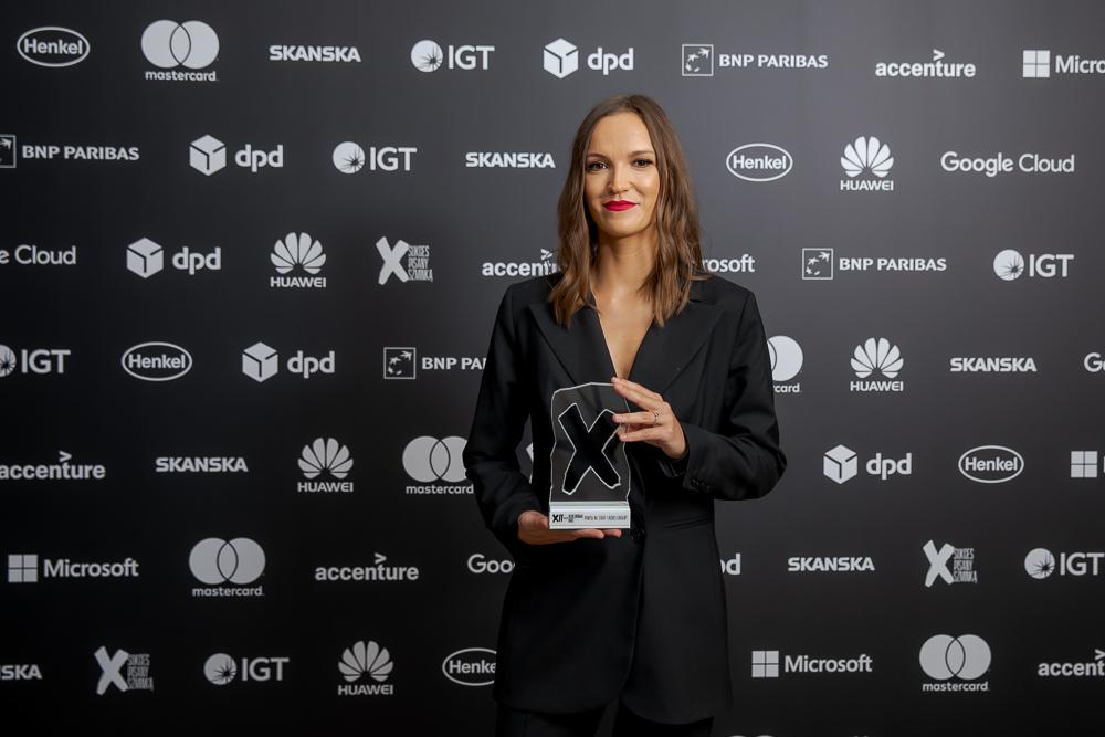 Paulina Sołtyk na gali Bizneswoman Roku