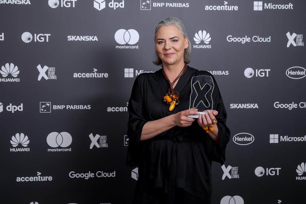 Agnieszka Sikora / Fundacja po DRUGIE / Bizneswoman Roku 2020